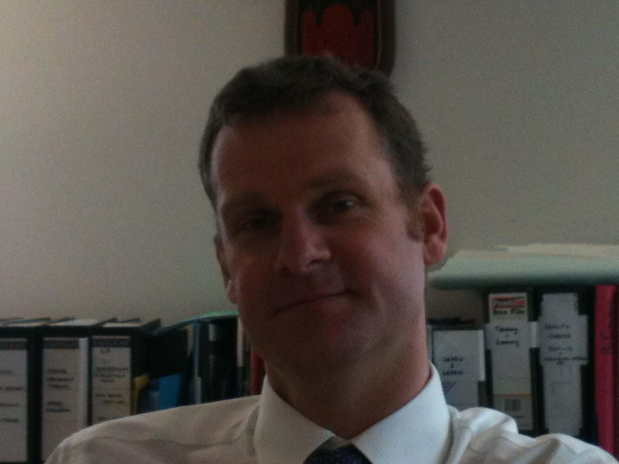 Head teacher Alan Doust - Doust1