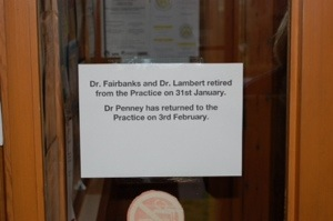 Dr Penney takes over at Bishop's Castle surgery